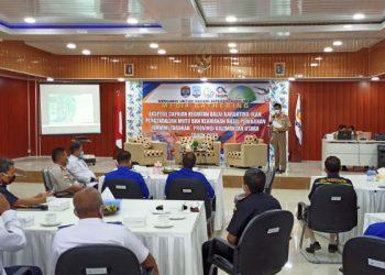 Gathering Media, Ekspose Capaian Kegiatan Balai Karantina Ikan, Penjaminan Mutu dan Keamanan Hasil Perikanan (BKIPM) Tarakan. Foto: fokusborneo.com