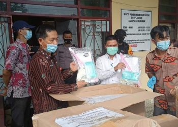 Vaksin Sinovac tiba di Nunukan Kalimantan Utara. Foto: Humas Nunukan