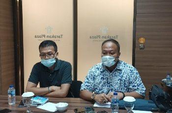 Tim Transisi saat menggelar jumpa pers di Tarakan Plaza. Foto: Fokusborneo.com