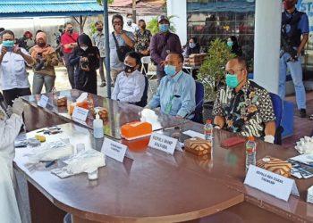 BNNP Kaltara Musnahkan Barang Bukti Sabu-Sabu Seberat 2 Kilogram. Foto: Fokusborneo