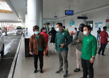 Ketua DPC PKB Kota Tarakan Achmad Usman bersama Ketua DPW PKB Kaltara dan Pengurus DPP PKB Luluk Nur Hamidah. Foto: Fokusborneo