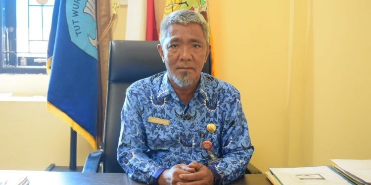 Kepala Dinas Pendidikan Kabupaten Tana Tidung, Ja'far sidik, SE