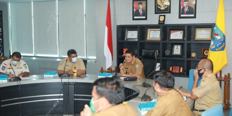 Rapat membahas Draft Instruksi Gubernur Soal PPKM. Foto: Humas Prov Kaltara
