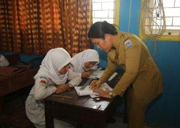 Proses pembelajaran di SMKN 1 Tanjung Selor. Foto: Humas Prov Kaltara