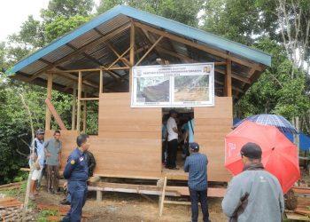 Progress Rehab Rumah Tahun 2018 lalu. Foto: Doc Humas Provinsi Kaltara
