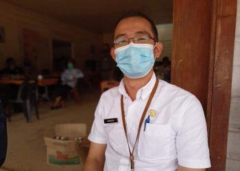 Kepala Puskesmas Krayan, dr Aprianto.Foto: Diskominfo Kabupaten Nunukan
