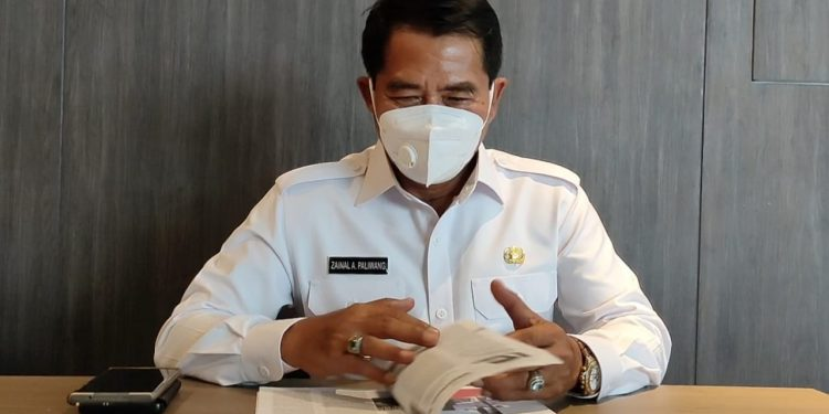 Gubernur Kaltara, Drs.H.Zainal A Paliwang, SH.M.Hum