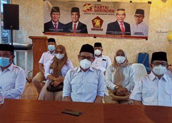 Ketua dan Pengurus DPD Partai Gerindra Provinsi Kaltara. Foto: fokusborneo.com