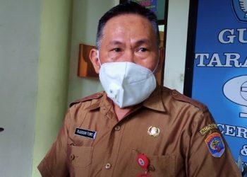 Tajuddin Tuwo, Kepala Disdik Tarakan. Foto: fokusborneo.com