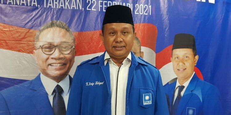 Ketua DPD PAN Kota Tarakan Khaeruddin Arief Hidayat. Foto : Fokusborneo.com