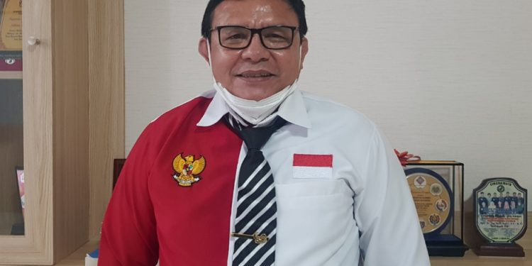 Rektor Universitas Borneo Tarakan Prof. Dr. Adri Patton, M.Si.  Foto : Fokusborneo.com