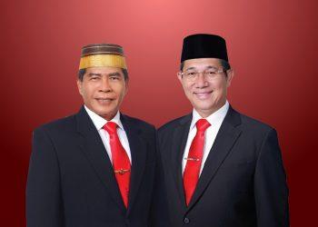 Gubernur-Wagub Kaltara 2021-2024 Zainal A Paliwang-Yansen TP. Foto: Istimewa