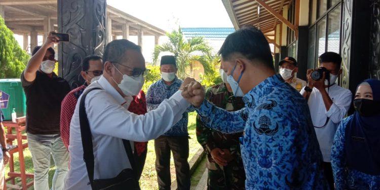 Anggota DPR RI Dapil Kaltara, Deddy Sitorus, melaksanakan kunjungan kerja ke Kabupaten Tana Tidung. Foto: Fokusborneo