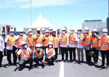 Wakil Ketua Komite II DPD RI Hasan Basri melakukan kunjungan kerja ke Provinsi Sulawesi Selatan. Foto : Istimewa