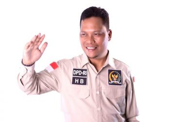 Pimpinan Banggar PURT DPD RI Hasan Basri. Foto9  : Istimewa