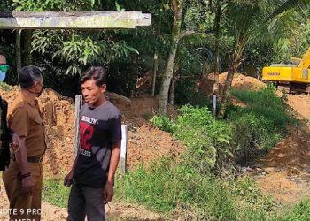 Normalisasi Sungai Karang Anyar. foto: ist