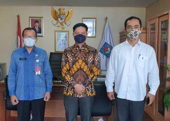 Bupati Kabupaten Tana Tidung silaturahmi dengan sekretaris Dirjen Bina Keuangan Daerah Kementrian Dalam Negeri