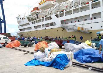 Kapal Pelni saat sandar di Pelabuhan Malundung Kota Tarakan beberapa waktu lalu