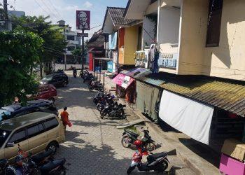 Komplek Pertokoan THM Kota Tarakan. Foto : Fokusborneo.com