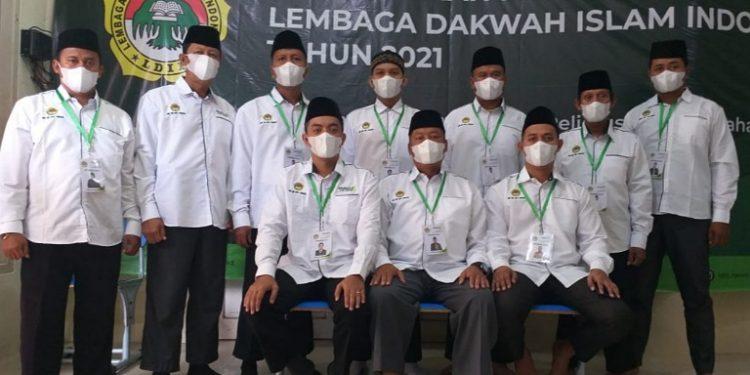 Pengurus DPD LDII Kota Tarakan mengikuti Munas IX LDII secara virtual, Rabu (7/4). Foto : Istimewa
