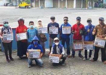 Imbipu Kota Tarakan galang dana untuk bantu korban banjir bandang dan tanah longsor di Bima, NTB. Foto : Istimewa