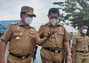 Gubernur Kaltara, Zainal A Paliwang dan Wakil Gubernur Kaltara Yansen TP