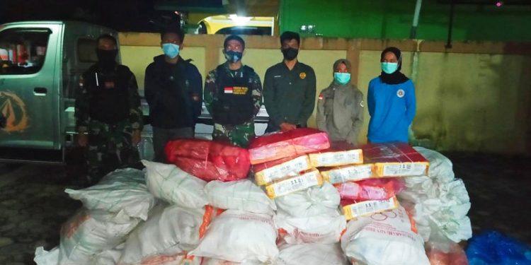Petugas Gabungan Gagalkan Penyelundupan Daging Ilegal Asal Malaysia. Foto: istimewa