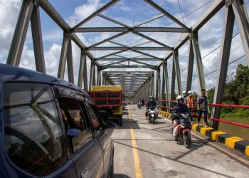 Jembatan Jelarai.Foto : Diskominfo Kaltara