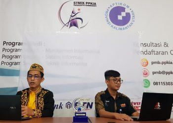 Muhammad, S.Kom., M.Kom dan Muhammad Fadlan, S.Kom., M.Kom dilantik menjadi Ketua dan Sekretaris IndoCEISS Provinsi Kaltara, Sabtu (8/5). Foto : Fokusborneo.com
