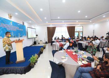 Wali Kota Tarakan dr. Khairul buka Muscab BPC HIPMI Kota Tarakan. Foto : Humas Pemkot Tarakan.