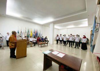 Wakil Wali Kota Tarakan Effendhi Djufrianto menghadiri pelantikan pengurus Pengkot ISSI Kota Tarakan. Foto : Humas Pemkot Tarkan