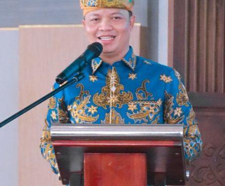 Bupati Tana Tidung, Ibrahim Ali saat membuka secara resmi Musda III Badan Pengurus Daerah KKSS Tana Tidung.Foto: Diskominfo Tana Tidung