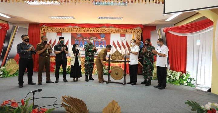 Wali Kota Tarakan dr. Khairul tetapkan Selumit dan Gunung Lingkas sebagai Kampung Bersinar. Foto : Humas Pemkot Tarakan.