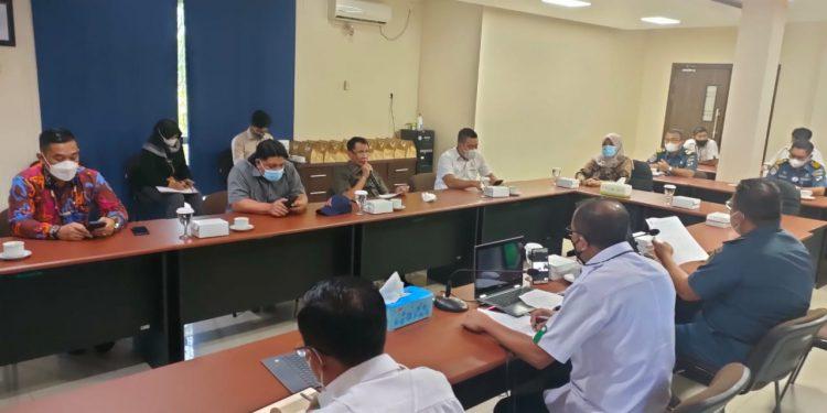 Kunjungan kerja Komisi 3 DPRD Provinsi Kaltara ke PT. Pelindo IV Cabang Tarakan. Foto : Istimewa