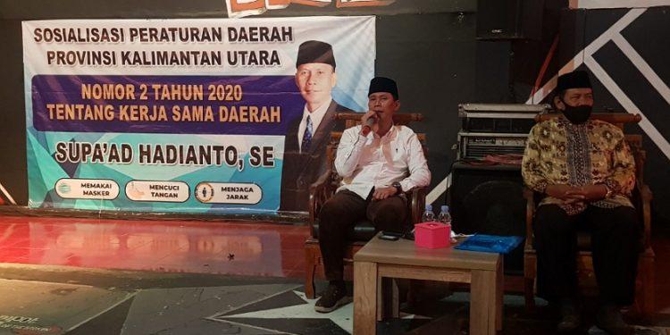 Wakil Ketua Komisi 3 DPRD Provinsi Kaltara Supa'ad Hadianto. Foto : Fokusborneo.com
