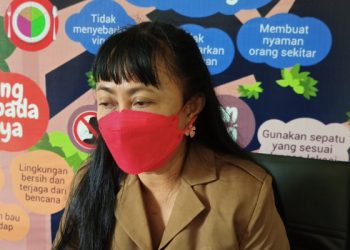 dr Devi Ika Indriarti, Jubir Satgas Covid-19 Tarakan. foto: fokusborneo.com