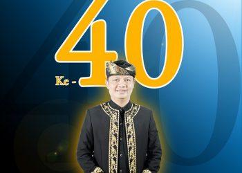 Ibrahim Ali (Bupati KTT) Genap Berusia 40 Tahun.