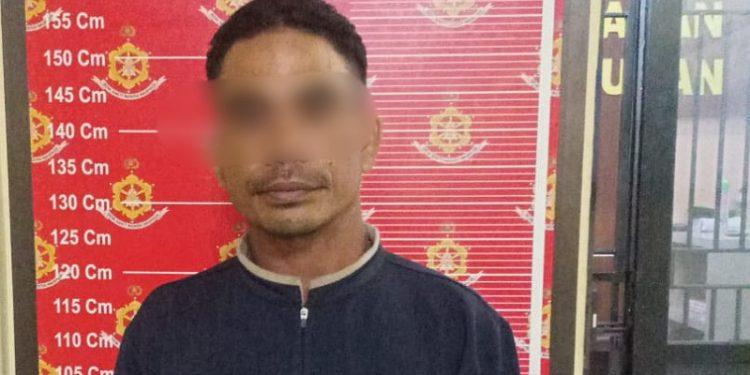 Pelaku Pembacokan Karyawan APMS Menyerahkan Diri ke Mako Polres Nunukan. Foto: IST/Humas Polres Nunukan