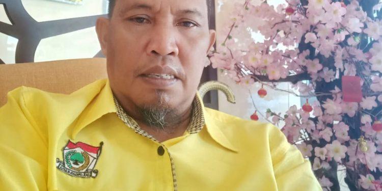 Ketua Panitia Musda DPD II Golkar Kabupaten Tana Tidung, Hanafiah, SE