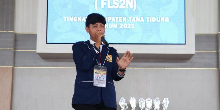 Festival dan Lomba Seni Siswa Nasional (FLS2N) jenjang pendidikan dasar (SD- SMP)