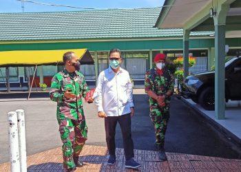 Bahas Vaksinasi: Dandim 0907 Tarakan Menerima Kunjungan Wakil Komite II DPD RI. Foto: Fokusborneo