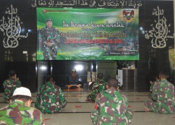 Kodim 0907 Tarakan menggelar doa bersama menjelang latihan bersama (latma) Garuda Shield ke -15 Tahun 2021 di Kodam VI/Mulwarman