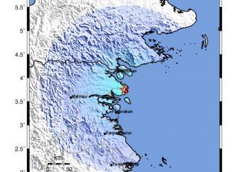 Info Gempa. Sumber: BMKG Tarakan