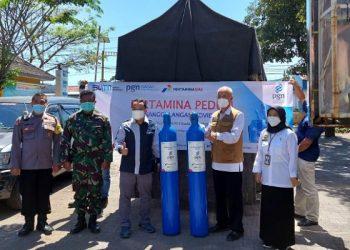 PGN Salurkan Gas Oksigen Untuk Rumah Sakit. Foto: ist