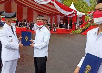 Langsung Bebas: Dua Perwakilan Narapidana Lapas Tarakan Mendapatkan Remisi di HUT Ke-76 Tahun Republik Indonesia. foto: fokusborneo.com