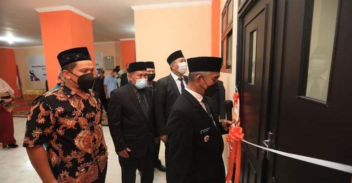 Wali Kota Tarakan dr. Khairul resmikan gedung baru SMPN 7 Kota Tarakan. Foto : Humas Pemkot Tarakan.