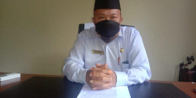 Kepala Pelaksana BPBD Kabupaten Tana Tidung, R.A Darwis