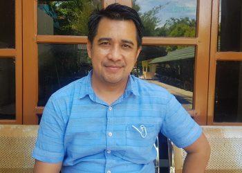 Ketua Pansus Raperda Retribusi DPRD Kota Tarakan Simon Patino.Foto : Fokusborneo.com